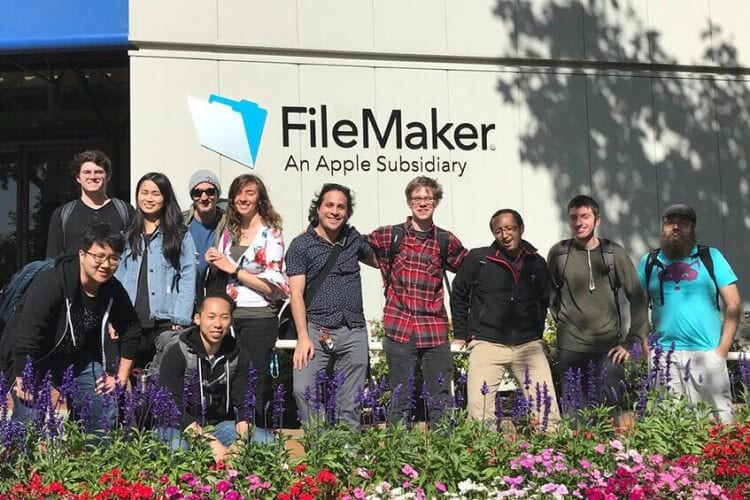 The 42 Silicon Valley team that went through FileMaker's training in 2018.