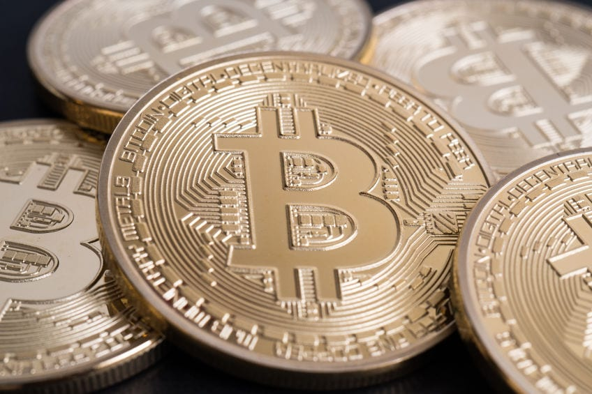 Bitcoin and digital currency.