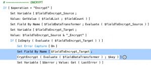Script workspace for Easy Encrypt Decrypt demo file.