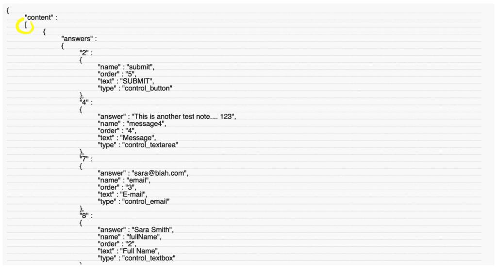 JotForm to FileMaker